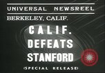 Image of college football game Berkeley California USA, 1936, second 4 stock footage video 65675060575