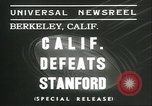 Image of college football game Berkeley California USA, 1936, second 5 stock footage video 65675060575