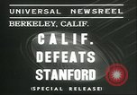 Image of college football game Berkeley California USA, 1936, second 7 stock footage video 65675060575