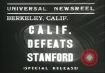 Image of college football game Berkeley California USA, 1936, second 8 stock footage video 65675060575