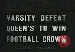 Image of college football game New Haven Connecticut USA, 1936, second 1 stock footage video 65675060577