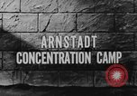 Image of Arnstadt Concentration Camp Espenfeld near Arnstadt Germany, 1945, second 5 stock footage video 65675060579