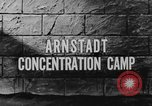 Image of Arnstadt Concentration Camp Espenfeld near Arnstadt Germany, 1945, second 6 stock footage video 65675060579