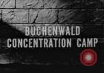 Image of Buchenwald Concentration Camp Weimar Germany, 1945, second 3 stock footage video 65675060582