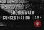 Image of Buchenwald Concentration Camp Weimar Germany, 1945, second 4 stock footage video 65675060582