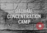 Image of Dachau Concentration Camp Dachau Germany, 1945, second 1 stock footage video 65675060583