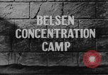 Image of Bergen-Belsen Concentration Camp Germany, 1945, second 5 stock footage video 65675060585