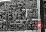 Image of counterfeit ration stamps United States USA, 1943, second 10 stock footage video 65675060589