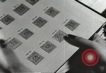 Image of counterfeit ration stamps United States USA, 1943, second 8 stock footage video 65675060590