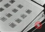 Image of counterfeit ration stamps United States USA, 1943, second 10 stock footage video 65675060590