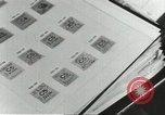 Image of counterfeit ration stamps United States USA, 1943, second 11 stock footage video 65675060590