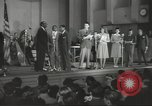 Image of golden slippers Hollywood Los Angeles California USA, 1943, second 10 stock footage video 65675060594