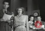 Image of Famous Hollywood personalities prepare for broadcast Hollywood Los Angeles California USA, 1943, second 2 stock footage video 65675060595