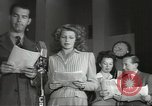 Image of Famous Hollywood personalities prepare for broadcast Hollywood Los Angeles California USA, 1943, second 3 stock footage video 65675060595