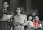 Image of Famous Hollywood personalities prepare for broadcast Hollywood Los Angeles California USA, 1943, second 4 stock footage video 65675060595