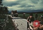 Image of US aviators who escaped Swiss internment Annecy France, 1944, second 4 stock footage video 65675060611