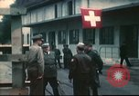 Image of Army Air Forces flyers repatriated from Swiss internment France, 1944, second 8 stock footage video 65675060615