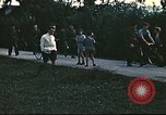 Image of Repatriated American flyers depart on C-47 aircraft Annecy France, 1944, second 4 stock footage video 65675060616
