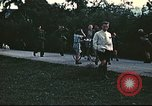 Image of Repatriated American flyers depart on C-47 aircraft Annecy France, 1944, second 7 stock footage video 65675060616