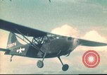 Image of L-5 Sentinel aircraft in Alpine region of France Annecy France, 1944, second 1 stock footage video 65675060620