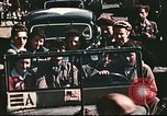 Image of American soldiers with local girls Lyon France, 1944, second 12 stock footage video 65675060621