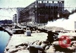 Image of damaged building Sicily Italy, 1943, second 1 stock footage video 65675060636