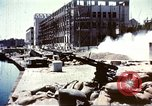 Image of damaged building Sicily Italy, 1943, second 2 stock footage video 65675060636