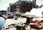 Image of damaged building Sicily Italy, 1943, second 4 stock footage video 65675060636
