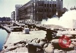 Image of damaged building Sicily Italy, 1943, second 6 stock footage video 65675060636