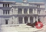 Image of damaged building Sicily Italy, 1943, second 7 stock footage video 65675060636