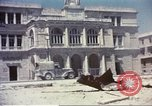 Image of damaged building Sicily Italy, 1943, second 9 stock footage video 65675060636