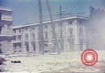 Image of damaged building Sicily Italy, 1943, second 11 stock footage video 65675060636