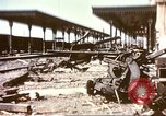 Image of railroad station Sicily Italy, 1943, second 2 stock footage video 65675060641