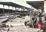 Image of railroad station Sicily Italy, 1943, second 5 stock footage video 65675060641