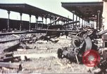 Image of railroad station Sicily Italy, 1943, second 7 stock footage video 65675060641