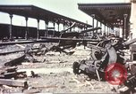 Image of railroad station Sicily Italy, 1943, second 8 stock footage video 65675060641