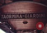 Image of railroad station Sicily Italy, 1943, second 10 stock footage video 65675060641
