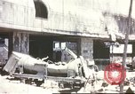 Image of Bombed railroad station and port Messina Sicily Italy, 1943, second 1 stock footage video 65675060643