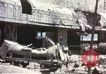 Image of Bombed railroad station and port Messina Sicily Italy, 1943, second 4 stock footage video 65675060643