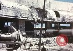 Image of Bombed railroad station and port Messina Sicily Italy, 1943, second 8 stock footage video 65675060643