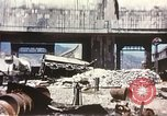 Image of Bombed railroad station and port Messina Sicily Italy, 1943, second 12 stock footage video 65675060643