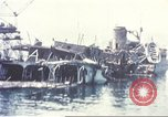 Image of Destroyed ferry boats Messina Sicily Italy, 1943, second 1 stock footage video 65675060645