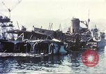 Image of Destroyed ferry boats Messina Sicily Italy, 1943, second 4 stock footage video 65675060645