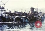 Image of Destroyed ferry boats Messina Sicily Italy, 1943, second 5 stock footage video 65675060645
