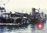 Image of Destroyed ferry boats Messina Sicily Italy, 1943, second 6 stock footage video 65675060645
