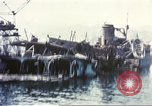 Image of Destroyed ferry boats Messina Sicily Italy, 1943, second 7 stock footage video 65675060645