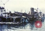 Image of Destroyed ferry boats Messina Sicily Italy, 1943, second 8 stock footage video 65675060645