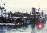 Image of Destroyed ferry boats Messina Sicily Italy, 1943, second 9 stock footage video 65675060645