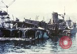 Image of Destroyed ferry boats Messina Sicily Italy, 1943, second 10 stock footage video 65675060645