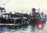 Image of Destroyed ferry boats Messina Sicily Italy, 1943, second 11 stock footage video 65675060645